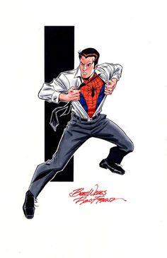 Stan Lee Spiderman, Spiderman Art, Amazing Spiderman, Marvel Heroes, Marvel Characters, Comic Books Art, Comic Art, Andre Luis, Dc Comics
