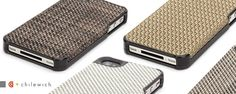 These Elan Form cases are a cut above the rest. Coming in four different styles of woven vinyl textiles, these cases are easy to grip, slim, and easy to keep clean.