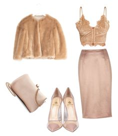 A fashion look from February 2017 featuring corset shirt, faux fur cropped jackets and knee length pencil skirts. Browse and shop related looks. Lc Lauren Conrad, River Island, Shoe Bag, Polyvore, Stuff To Buy, Shopping, Shoes, Collection, Design