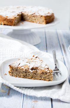 Almond Cakes, Cakes And More, Cake Cookies, Nutella, Baking Recipes, Banana Bread, Sweet Tooth, Food And Drink, Low Carb