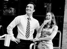 laughter looks good on everybody (but especially chuck & blair)