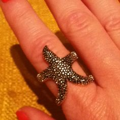 H&M sea star ring