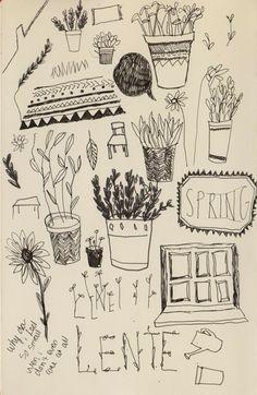 Sketchbook - Roos van der Minnen