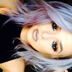 Nude gray lips