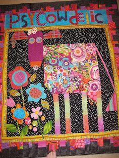 PsyCOWdelic  quilt