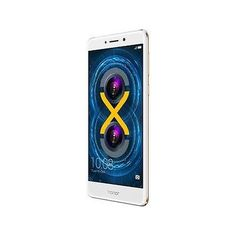 "Huawei - Honor 6X Unlocked Smartphone with Dual Camera (5.5"" Gold, 32GB Storage"