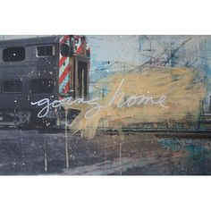 """East Urban Home Going Home Graphic Art on Wrapped Canvas Size: 12"""" H x 18"""" W x 1.5"""" D"""