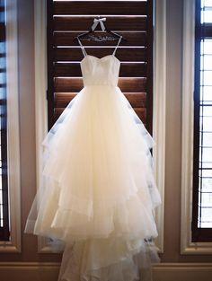 Picturesque Texas Wedding at Villa Del Lago Hanging Wedding Dress, Gorgeous Wedding Dress, Best Wedding Dresses, Wedding Gowns, Tuxedo Dress, Bride Look, Mod Wedding, Here Comes The Bride, Wedding Photos
