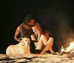 Shannon, Sayid and Vincent