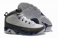 purchase cheap 8e439 e6e2d Buy Big Discount Jordan Pas Cher- Air Jordan Retro 9 IX Blanc Gris from  Reliable Big Discount Jordan Pas Cher- Air Jordan Retro 9 IX Blanc Gris  suppliers.
