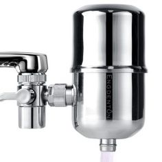 Engdenton Faucet Water Filter Stainless-Steel Reduce Chlorine High Water Flow, Water Purifier with Ultra Adsorptive Material, Water Filters for Faucets-Fits Standard Faucets Best Water Filter, Drinking Water Filter, Water Filters, Under Counter Water Filter, Best Faucet, Shower Filter, Water Faucet, Water Filtration System, Water Quality