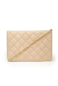 Quilted Faux Leather Crossbody | Forever 21 - 1000162554
