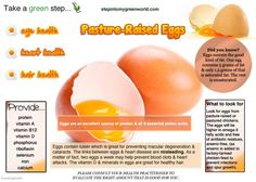 The quality of egg protein is the highest of any whole food product