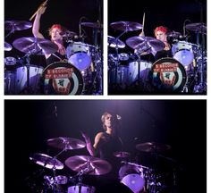 Ash on stage // banDANA ASHTON IS BACK THIS IS NOT A DRILL FAM // Turin, Italy (5.8.15)
