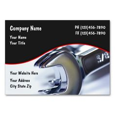 automotive business cards - Auto Repair Business Cards