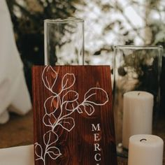 Decoration, Pillar Candles, Creations, Creative Ideas, Urn, Botany, Weddings, Decor, Decorations