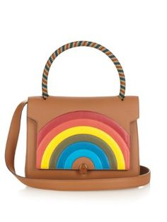 Bathurst Rainbow leather shoulder bag  | Anya Hindmarch | MATCHESFASHION.COM