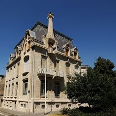 Villa Weissenburger (L'Ecole de Nancy) (Nancy, Capital of Lorraine - France)