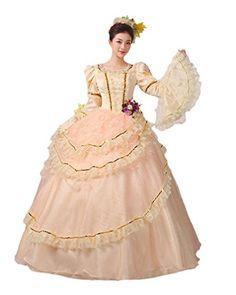 Zukzi Womens Prom Gothic Victorian Fancy Palace Masquerade Dresses W006 US 12