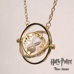 Harry Potter Time-Turner Golden Chain Halskette