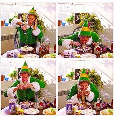 Elf! My favorite Christmas movie