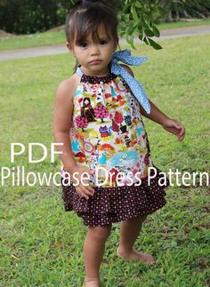 Sewing: Pillowcase Dress with Ruffle Skirt