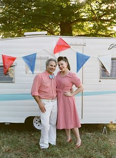A rentable little Shasta trailer for events.