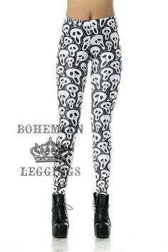 Waist Type: Mid Material: Polyester,Spandex Style: Fashion Pattern Type: Print Brand Name: Bohemian Leggings Item Type: Leggings Gender: Women Galaxy Leggings, Skull Leggings, Cheap Leggings, Printed Leggings, Women's Leggings, Leggings Are Not Pants, Tights, Leggings Fashion, Skirt Fashion