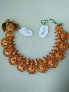 Jewelry Design Earrings, Gold Jewellery Design, Necklace Designs, Diamond Jewelry, Gold Temple Jewellery, India Jewelry, Gold Mangalsutra Designs, Gold Jewelry Simple, Gold Necklace