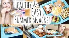 Healthy Eats: Easy Summer Snacks! | Aspyn Ovard