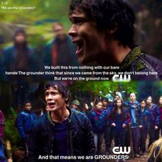 """S1 Ep12 """"We Are Grounders, Part 1"""" - Bellamy"""