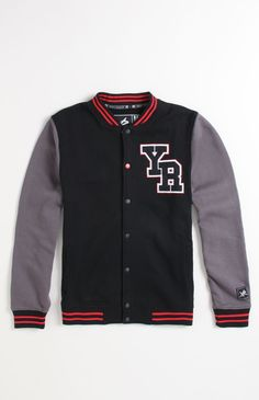 Young & Reckless Black Varsity Jacket