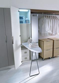 Mobile lavanderia componibile in laminato SPAZIO EVOLUZIONE - IdeaGroup