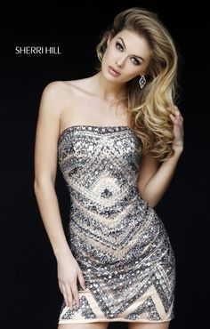 Beaded mini homecoming dresses