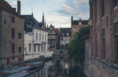 Evening Brugge by EvgenyDobychin #architecture #building #architexture #city #buildings #skyscraper #urban #design #minimal #cities #town #street #art #arts #architecturelovers #abstract #photooftheday #amazing #picoftheday