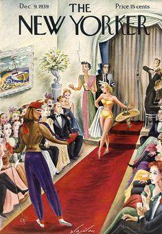 The New Yorker December 9, 1939 (Constantin Alajalov)