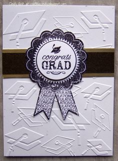 Congrats Grad by misscindy - Cards and Paper Crafts at Splitcoaststampers