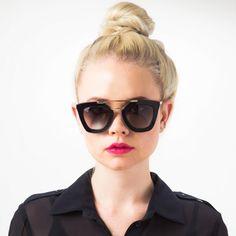 1 Team Zoe Staffer, 30 Days of Lipsticks | The Zoe Report Blowing Raspberries Moisture Matte LIPPY