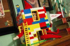 {The Organsied Housewife} Elf on the Shelf Idea 121105