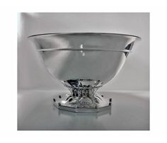 Early Georg Jensen Sterling Bowl, C.1920 | From a unique collection of antique and modern  at https://www.1stdibs.com//
