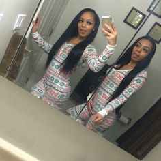 when you full people to thinking you and your besties are twins😍😂 Sisters Goals, Bff Goals, Squad Goals, Hair Goals, Matching Outfits Best Friend, Best Friend Outfits, Go Best Friend, Best Friend Goals, Cute Swag Outfits
