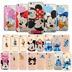 Iphone 32gb, Iphone 7, Apple Iphone 5, Diy Phone Case, Iphone Phone Cases, Minnie, Mickey Mouse, Cute Cartoon Characters, Iphone 8 Plus