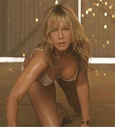 Jennifer Aniston in lingerie in