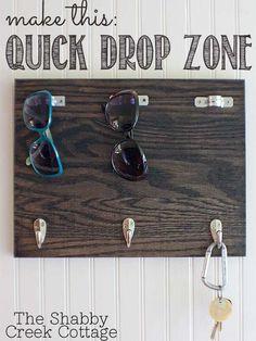 Make a Quick Drop Zone