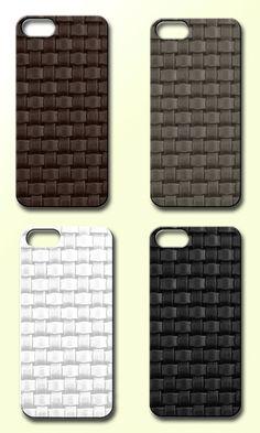 Handmade woven leather iPhone cases #valenzhandmade