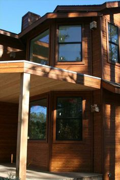 BuildDirect®: Cerber Cerber Rustic Fiber Cement Siding Old Cherry Fiber Cement Siding, Stair Handrail, Rustic Home Design, House Siding, Stone Veneer, Building Materials, Exterior Colors, Cladding, House Colors