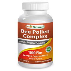 Best Naturals Bee Pollen Complex 1000 Mg 120 Tablets -- To view further for this item, visit the image link.