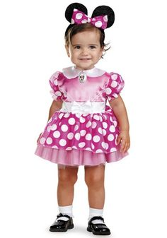 Girls' Clothing (newborn-5t) Frank Girls 6-9 Months Minnie Mouse Outfit