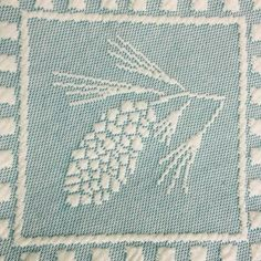 A Little Piece of Maine: Featured on our Limited Edition Evergreen Throw, the White Pine Cone and Tassel were named the Maine State Flower on July 21st, 1945.
