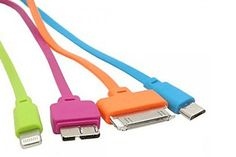 $14 for a 5-in-1 Flat USB Cable - Shipping Included